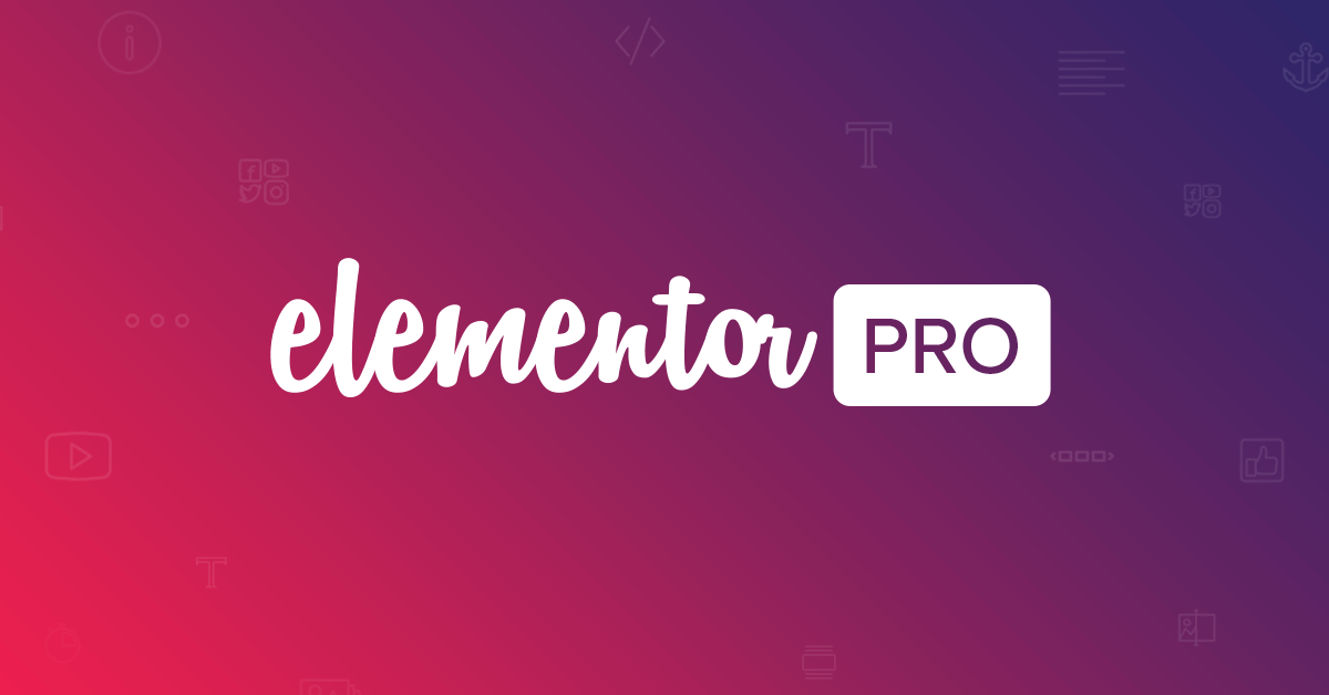 Elementor Pro License Free