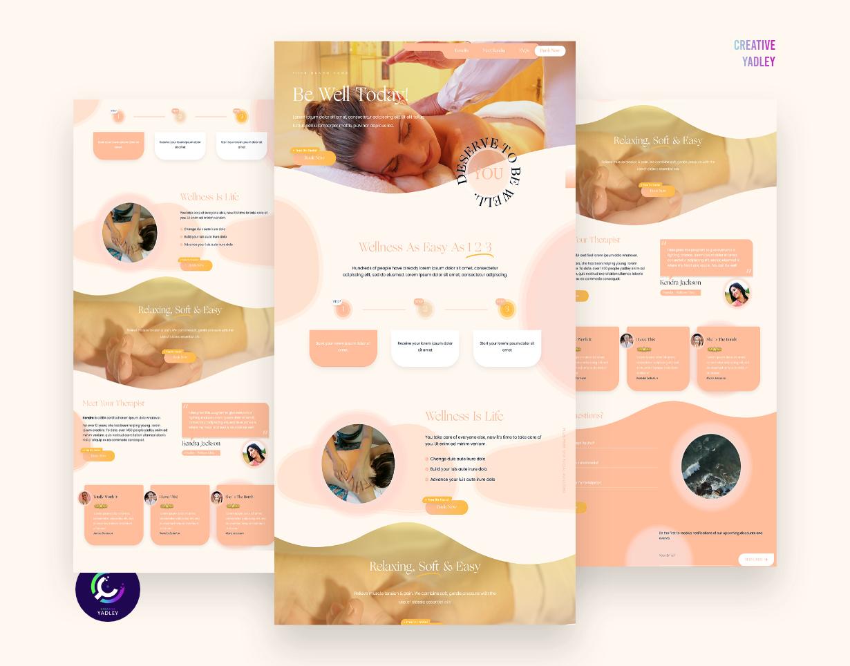 Wellness Ready-Made Website